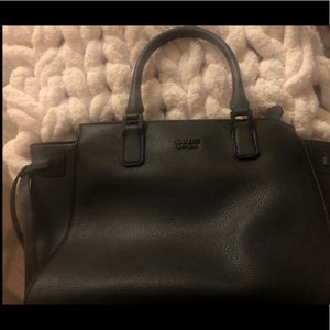 leather guess bag